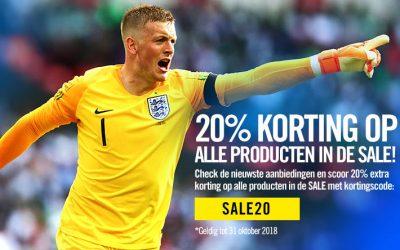 Het grootste aanbod voetbalshirts & merchandising wereldwijd!